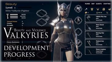 Новые подробности Beauty And Violence: Valkyries