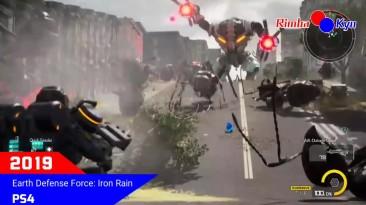 Эволюция всех игр серии Earth Defence Force (2003-2019)
