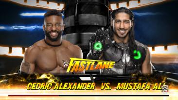 "WWE 2K16 ""Cedric Alexander - мод на рестлера (GFX)"""