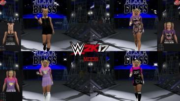 "WWE 2K17 ""Alexa Bliss (Fiend) + 4 Нарядов и Рендеры (Лицевая анимация) WWE 2K19 Порт мод"""