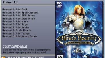 King's Bounty - Легенда о Рыцаре: Трейнер (+10) [1.7] {CheatHappens}