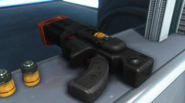 """Fallout 4 """"Заменяет цвет оружие синтов на чёрный."""""""
