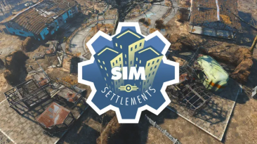 """Fallout 4 """"Сим-Поселения 2 версия 1.0.8 Русская версия"""""""
