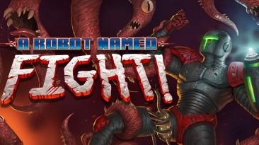 A Robot Named Fight немного кривая игра в стиле метроидвания