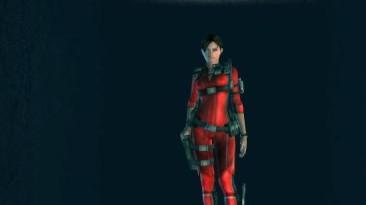 """Resident Evil: Revelations """"mlz Jill battlesuit red"""""""