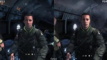 Wolfenstein The New Order - PS3 vs PS4 Pro Graphics Comparison