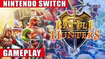 Видео игрового процесса Battle Hunters