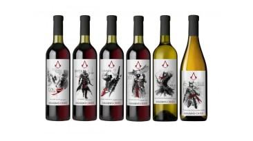 Ubisoft выпустила коллекцию вин Assassin's Creed