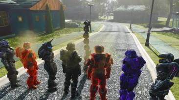 Fallout 4 Mod: The Commonwealth Spartan-helmets-шлемы, горы шлемов-завал...