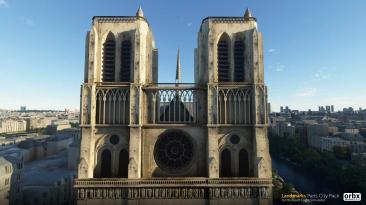 """Microsoft Flight Simulator - Orbx выпустил надстройку """"Достопримечательности Парижа"""" и новые скриншоты Сингапура"""