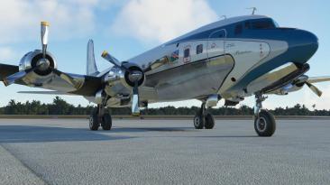 PMDG выпустил надстройку винтажного авиалайнера DC-6 для Microsoft Flight Simulator