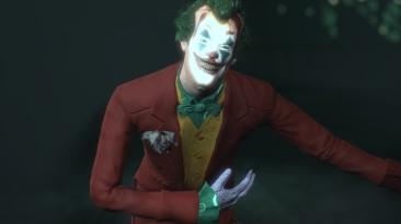 "Batman: Arkham City ""joker from movie 2019 (joaquin phoenix)"""