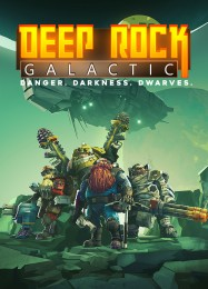 Обложка игры Deep Rock Galactic