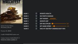 Wreckfest: Трейнер/Trainer (+7) [1.25 - 1.262317] {FLiNG}