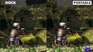 Dark Souls: Remastered - версию игры для Switch сравнили в портативном и стационарном режимах