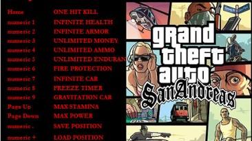 GTA San Andreas: Трейнер/Trainer (+14) [1.0] {Moccasin}