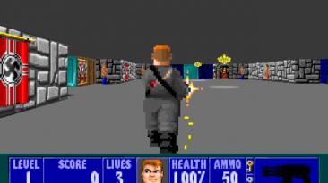 """Wolfenstein 3D: Spear of Destiny """"Third Person Mod"""""""