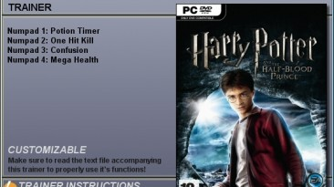 Harry Potter and the Half-Blood Prince: Трейнер (+4) [1.0] {CheatHappens}
