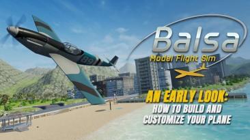Первый геймплейный ролик Balsa Model Flight Simulator
