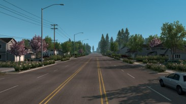 "American Truck Simulator ""Новая Летняя Графика/Погода v1.1 (1.38)"""