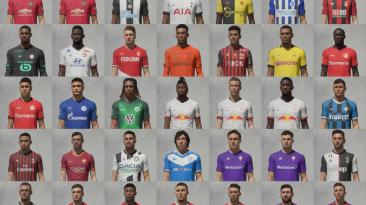 """FIFA 20 """"Большой пак лиц от лучших фэйсмекеров"""""""
