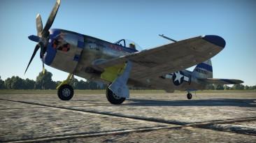 "War Thunder ""Semi-historical skin for the P-47M"""