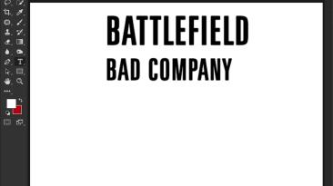 "Battlefield: Bad Company ""Шрифт для фотошопа и прочих редакторов"""