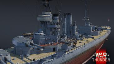 """Британский линкор HMS Marlborough прибудет в War Thunder вместе с обновлением """"Дрожь земли"""""""