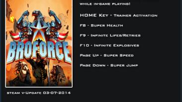 BroForce: Трейнер/Trainer (+5) [Update 03.07.2014] {LinGon}