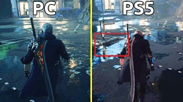 Devil May Cry 5 на PS5 с трассировкой лучей в сравнении с PC-версией
