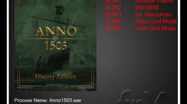 Anno 1503 History Edition: Трейнер/Trainer (+4) [1.4520.940918] {frX}