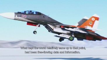 Ace Combat 7: Skies Unknown (трейлер Gamescom 2018) - русский и ламповый - VHSник
