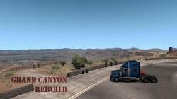 "American Truck Simulator ""Карта Grand Canyon Rebuild v1.3 (1.39.x)"""