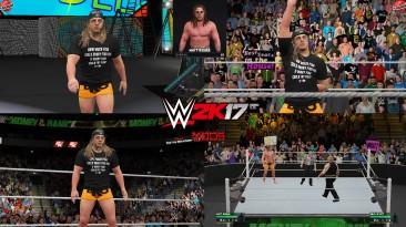 "WWE 2K17 ""Matt Riddle NXT TakeOver Portland WWE 2K19 Port MOD"""