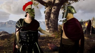 Assassin's Creed Odyssey - Пародийный скетч от Angry Joe [ENG]