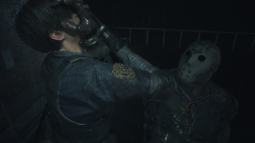 "Resident Evil 2 ""Джейсон Вурхиз из Friday the 13th: The Game"""