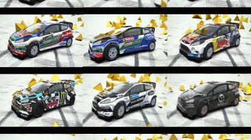 """DiRT 3 """"RallyCross: Замена всех автомобилей v1.3"""""""