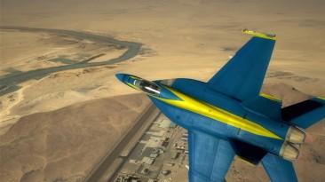 """H.A.W.X 2 """"F-18 """"Blue Angels"""""""""""