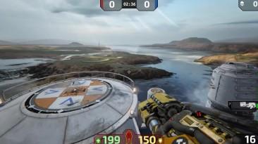 Первая высококачественная карта нового Unreal Tournament