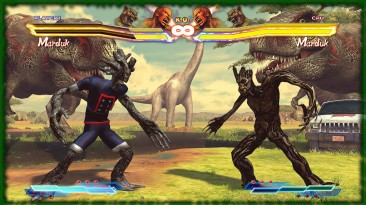 "Street Fighter X Tekken ""Guardians of the Galaxy Groot - Marduk"""