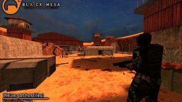 Скриншоты демейка Black Mesa в Half-Life GoldSource