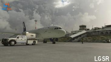 JustSim выпустил надстройку международного аэропорта Санторини для Microsoft Flight Simulator