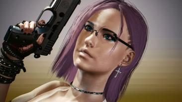 "Cyberpunk 2077 ""Прическа Nerd Punk для Ви v1.5"""
