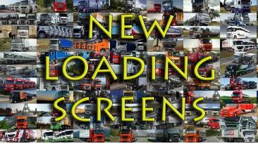 """Euro Truck Simulator 2 """"250 новых загрузочных экранов"""""""