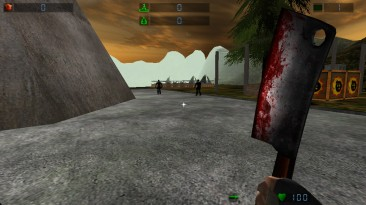 """Serious Sam: The First Encounter """"Meat Cleaver by Heming_Hitrowski"""""""