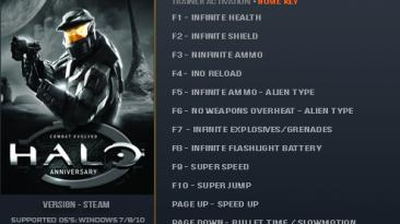 Halo: Combat Evolved Anniversary: Трейнер/Trainer (+15) [1.0] {LinGon}