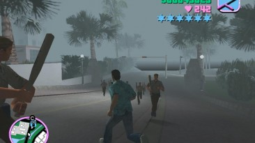 """Grand Theft Auto: Vice City """"Полицейские на второй звезде розыска со всем оружием (VC) 1.0"""""""