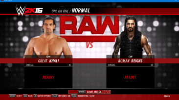 "WWE 2k16 ""The Great Khali, Jinder Mahal рендеры"""