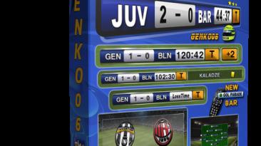 """PES 2012 """"Попапс канала """"SKY SPORT & CALCIO"""" от GENKO06 V.4.0"""""""