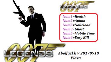 007 Legends: Трейнер/Trainer (+6) [20170918] {Abolfazl.k}